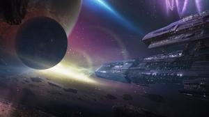 Sci Fi Spaceship 1920x1200 wallpaper