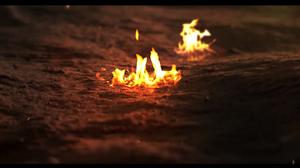 Fire Depth Of Field 1920x1080 Wallpaper