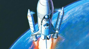 Vehicles Space Shuttle 1680x1050 Wallpaper