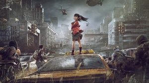 Child Girl Military Post Apocalyptic Soldier 1920x1184 Wallpaper