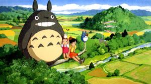 Satsuki Kusakabe Studio Ghibli Totoro My Neighbor Totoro 5544x3000 Wallpaper