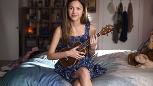 American Actress Singer Brunette Guitar 1920x1278 Wallpaper