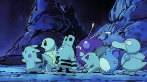 Bulbasaur Pokemon Elekid Pokemon Marill Pokemon Pikachu Psyduck Pokemon Squirtle Pokemon Venonat Pok 1916x1036 Wallpaper