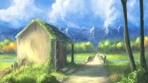 Fantasy Landscape 2209x1286 Wallpaper