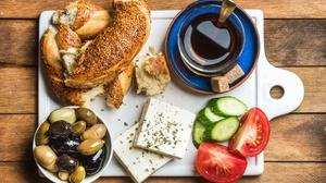 Breakfast Cheese Coffee Olive Still Life 4500x2963 Wallpaper