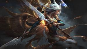 League Of Legends 4K Riot Games Kayle League Of Legends 3840x2160 Wallpaper