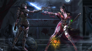 Demon Hunter Diablo Iii Diablo Iii Wizard Diablo Iii 2000x1250 Wallpaper
