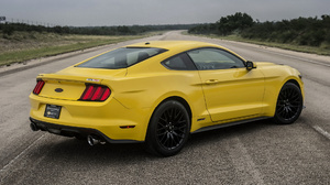 Car Coupe Hennessey Mustang Gt Muscle Car Tuning Yellow Car 1920x1080 Wallpaper