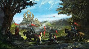 Banner Horse Knight 1920x1080 Wallpaper