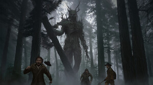 Creature Dark Forest Giant Monster Tree 1920x1284 Wallpaper