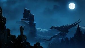 Dragon 2560x1396 Wallpaper