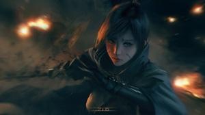 Fantasy Women Warrior 2180x1080 Wallpaper
