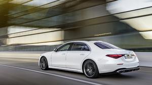 Car Luxury Car Mercedes Benz Mercedes Benz S Class White Car 4140x2328 wallpaper