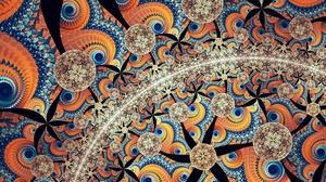 Artistic Digital Art Pattern 1920x1080 Wallpaper
