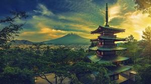 Mount Fuji 2048x1094 Wallpaper