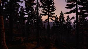 DayZ PlayStation 4 Video Games Screen Shot Zombies Forest 1920x1080 Wallpaper