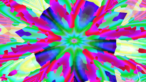Abstract Artistic Colorful Colors Digital Art Kaleidoscope 1920x1080 wallpaper
