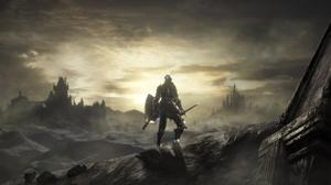 Armor Dark Souls Iii Knight Landscape Warrior 3840x2160 Wallpaper