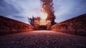 Tank Destruction 2560x1440 Wallpaper