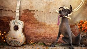 Coco Movie Dante Coco Guitar 3225x2080 wallpaper
