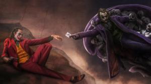 Dc Comics Heath Ledger Joaquin Phoenix Joker 1920x1080 Wallpaper