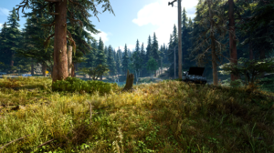 Days Gone Video Games Digital Art Apocalyptic Nature Zombies Game Art Bend Studios Forest Reshade 2560x1440 Wallpaper