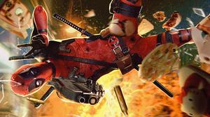 Deadpool Marvel Comics 3840x1788 Wallpaper