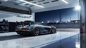 Car Mclaren Mclaren Senna Silver Car Sport Car Supercar Vehicle 4096x2304 Wallpaper