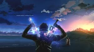 Kayaba Akihiko Kirito Sword Art Online Sunrise Sword Sword Art Online Weapon 1920x1080 Wallpaper