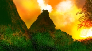 Digital Art Digital Painting Nature 1920x1080 wallpaper