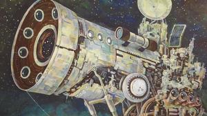 Sci Fi Telescope 2048x1536 Wallpaper