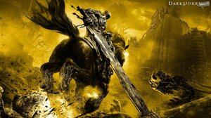 Darksiders Horse Sword Yellow 1920x1080 Wallpaper