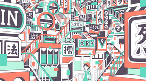 Digital Art Artwork Illustration Vertical City Signal Ladders Ladder Architecture Urban Building Whi 1350x1845 Wallpaper