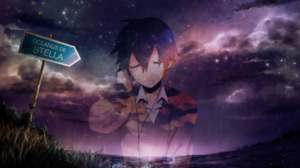 Space Anime Boys Picture In Picture 1680x1050 Wallpaper