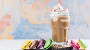 Drink Macaron 6000x4000 wallpaper