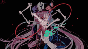 Genshin Impact Video Games Anime Games Video Game Girls Anime Anime Girls Simple Background Black Ba 1920x1163 Wallpaper