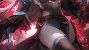 The Legend Of Zelda Zelda Video Games Digital Art Artwork Thigh Highs Princess Corruption Elven Poin 2395x3500 Wallpaper