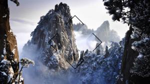 Snow Mountain 1920x1080 Wallpaper