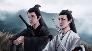 Li Bo Wen Song Ji Yang Song Lan Xiao Xingchen 2048x1152 Wallpaper