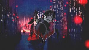 Uchiha Itachi Red Naruto Anime Mangekyou Sharingan Naruto Shippuuden Naruto Pain Picture In Picture  3840x2160 Wallpaper