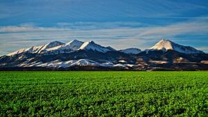 USA Colorado Peak Snow Nature Snowy Peak 1920x1370 Wallpaper