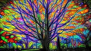 Colors Colorful Cgi 1920x1200 Wallpaper