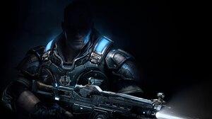 Gears Of War 4 Gun Soldier 3840x2160 Wallpaper