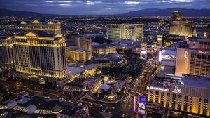 Man Made Las Vegas 1800x1200 wallpaper