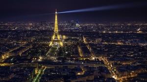 Paris France City Night Cityscape Building Light Monument 2936x1707 Wallpaper
