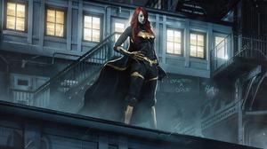 Batwoman Emma Stone 2560x1630 wallpaper