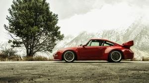 Car Porsche Porsche 911 Red Car Sport Car Vehicle 3600x2403 Wallpaper