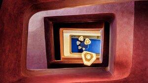 Architecture Lamp Worms Eye View Spiral Texture Concrete 1400x1090 Wallpaper