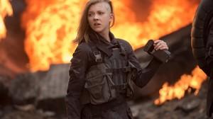 Natalie Dormer The Hunger Games Women Blonde Side Shave 1366x768 Wallpaper