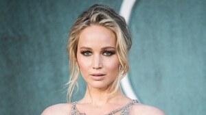Actress Blonde Blue Eyes Face Jennifer Lawrence 3000x1688 Wallpaper